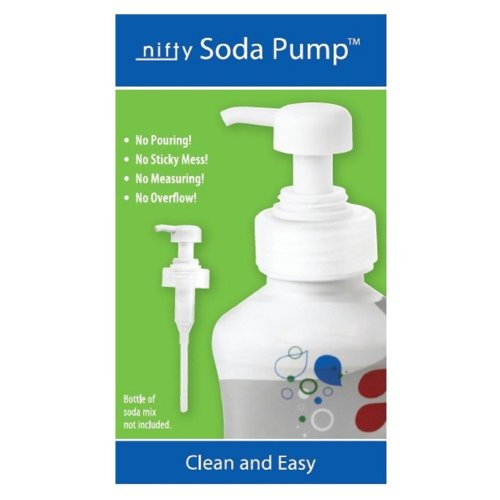 Nifty Pump For Sodastream Syrup Bottles