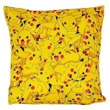 Pokemon Catch Square Cushion - Multi-Colour