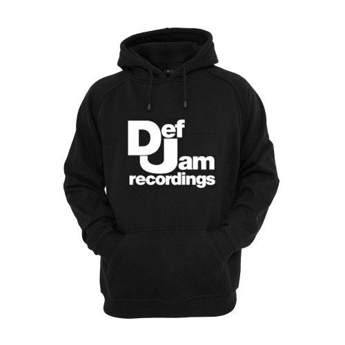 Def Jam Printed Hoodie
