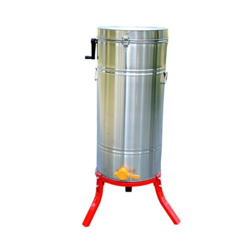HOMCOM Honey Extractor 4 frame Stainless Steel Manual for Beekeeping Bee Keeping With Cover New