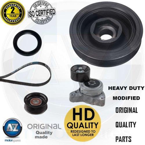 For Honda Civic 2.0 Type-R GT FN2 Crank shaft tensioner pulley kit seal belt new