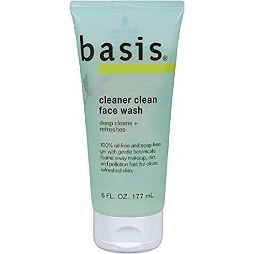 Basis Cleaner Clean Face Wash, 4 Count