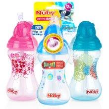 300ml Toddler Easy Sip, Non-spill Flip It Cup