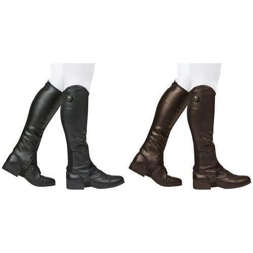 Dublin Mens Fusion Leather Half Chaps