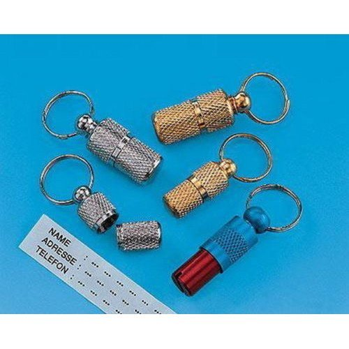 Nobby pet Identification Tubes, 24 mm chrome