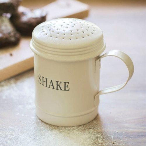 Stone Coloured Flour Shaker