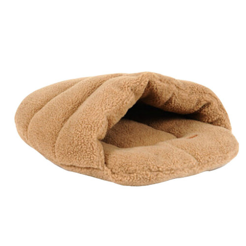 "Four Seasons General Soft Dog Cat Pet Bed,Cat Sleeping Bag(20""*16""*14""),CAMEL"