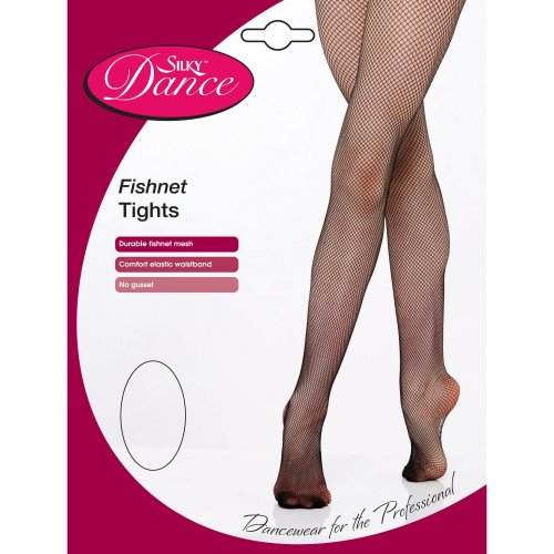 Silky Childrens Girls Dance Fishnet Tights (1 Pair)