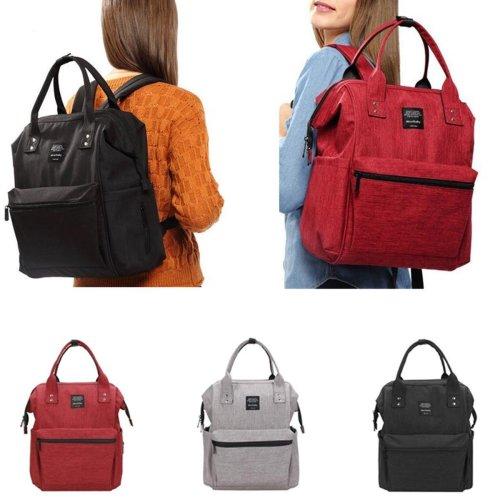 Travel Anti-theft Baby Diaper Nappy Mummy Bag Tote Maternity Women's Handbag Backpack
