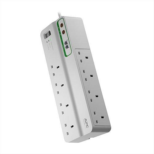 APC SurgeArrest 8AC outlet(s) 230V 3m White surge protector