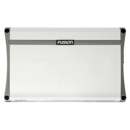 Fusion AM504¦Class-AB Amplifier¦500W¦4 Channel¦2-Ohms¦RCA-Out¦For Marine