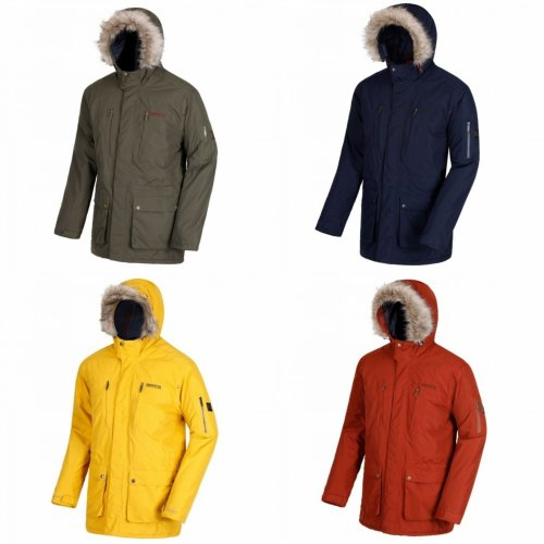 Regatta Mens Salinger Hooded Jacket