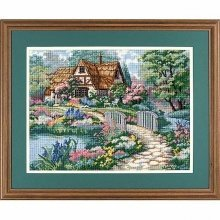 D02461 - Dimensions Needlepoint Kit - Cottage Retreat