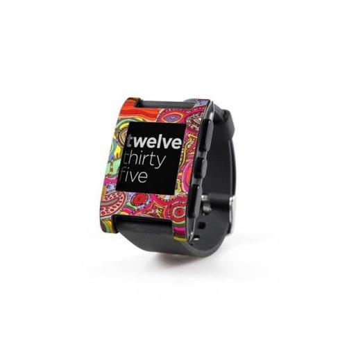 DecalGirl PWCH-TWALL Pebble Watch Skin - The Wall
