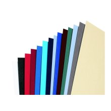 GBC LeatherGrain Binding Covers 250gsm A4 White (100) binding cover