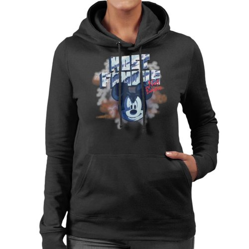Disney Mickey Mouse Band Most Famous Not Basic Women's Hooded Sweatshirt