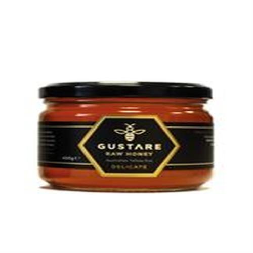 Gustare Honey Yellow Box Mono Floral Raw Australian Honey 400g