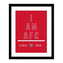 Personalised Arsenal FC I Am Print