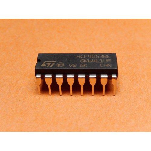 HCF4053BEY 4000 series CMOS STMicroelectronics