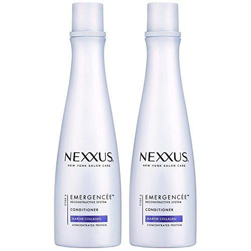 Nexxus Shampoo Emergencee (Marine Collagen) 13.5 Ounce (399ml) (2 Pack)