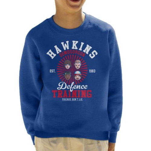 Stranger Things Hawkins Demogorgon Defence Kid's Sweatshirt
