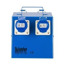Defender Distribution Unit / Splitter Box 4-Way 16amp  - 240v