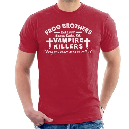Frog Brothers Vampire Killers The Lost Boys Men's T-Shirt