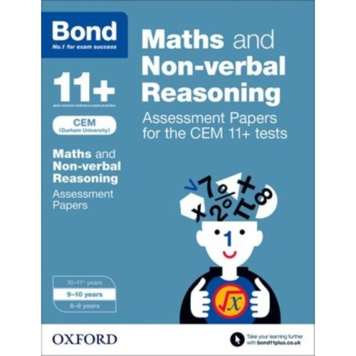 Bond 11+: Maths and Non-verbal Reasoning Assessment Papers for the CEM 11+ tests: 9-10 years (Paperback)