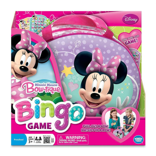 Minnie Mouse Bingo Board Game