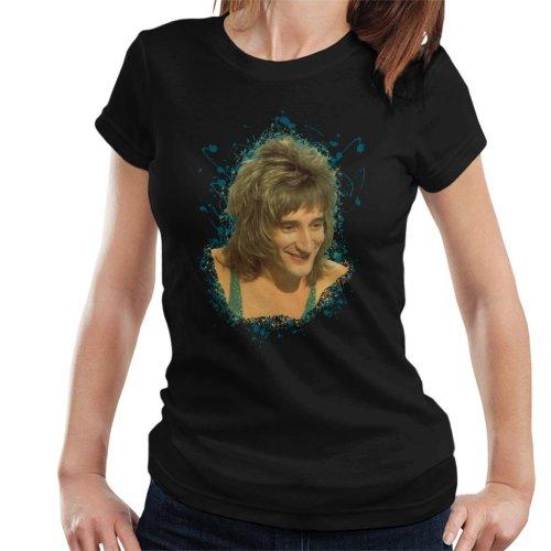 TV Times Rod Stewart Sparkly Vest Women's T-Shirt