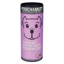Pooch and Mutt  Calm and Relaxed Mini-Bone Dog Treats, 125 g, Pack of 6