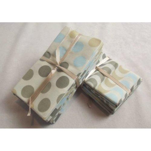 Fat Quarter Bundle - 100% Cotton - Blenders Spots - Pack of 5