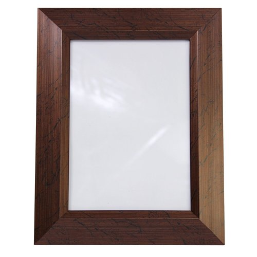 Home Decoration Brown Plastic Photo Frame for 13 x 18 cm Photo