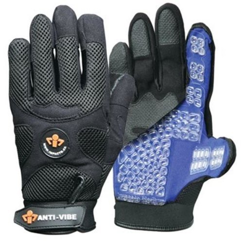 IMPACTO BG40840 Anti-Vibration Mechanics Air Glove - Large