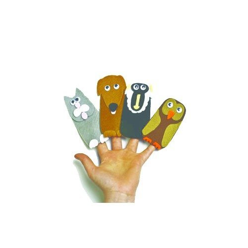 30 Cat Finger Puppets