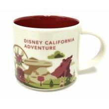 Starbucks You Are Here Disney California Adventure Mug