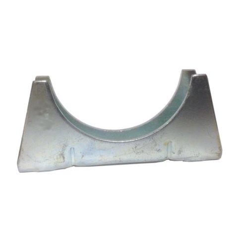 Universal Exhaust pipe cradle 42 mm pipe - Zinc Plated Mild Steel
