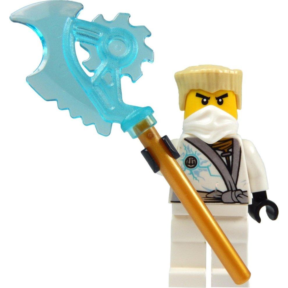 LEGO Ninjago: Zane minifigure - Rebooted (white Ninja ...