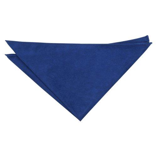 Royal Blue Suede Pocket Square