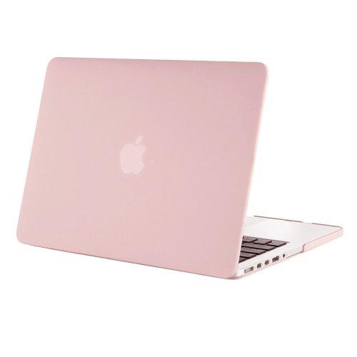 "MOSISO Hard Case MacBook Pro 15"" Retina Display No CD-Rom (Baby Pink)"