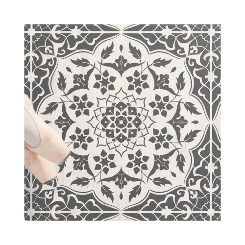 Azar Tile Border Wall Furniture Stencil for Painting
