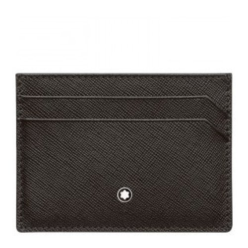 MONTBLANC POCKET-SIZED POUCH 5 COMPARTMENTS SARTORIAL BROWN 114604