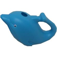 "Creative Children PE Water Cans Lovely Dolphin Watering 6.6*10.6"" 1.6L Skyblue"