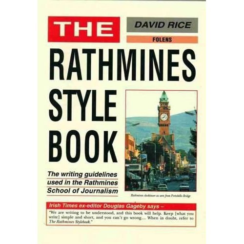 Rathmines Style Book