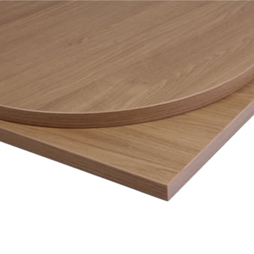 Taybon Laminate Table Top - Oak Round - 1200mm