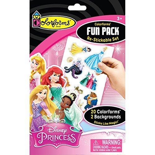 Colorforms Re-Stickable Sticker Set Princess