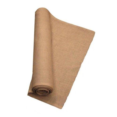 LA Linen 40IN-Burlap-90YardRoll 90 Yards Burlap Fabric, Natural - 40 in.