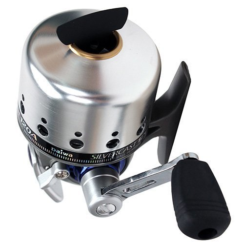 Daiwa SC120A Silvercast-A SpincastReel, Right Handed, 3-Ball Bearing, 4.3:1 Retrieve