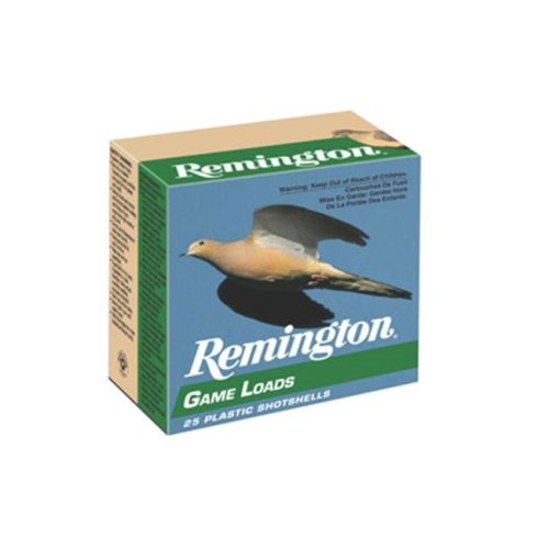 Remington GL206 Game Load 20Ga 2.75 In. No. 6 2.5 Dram 1 Oz Shotshell 25 250