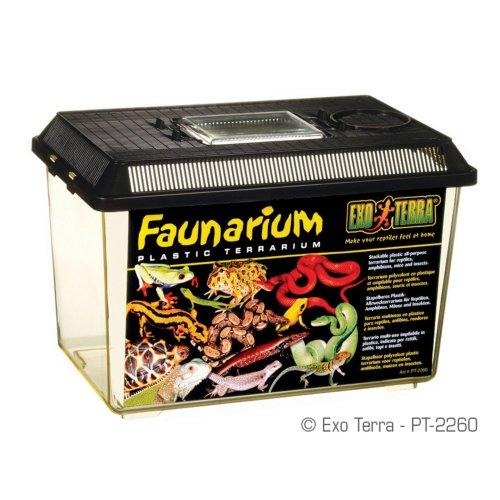 Exo Terra Faunarium Plastic Terrarium 30x19.5x20.5cm